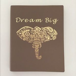 Other - Dream Big Elephant Notebook/Journal